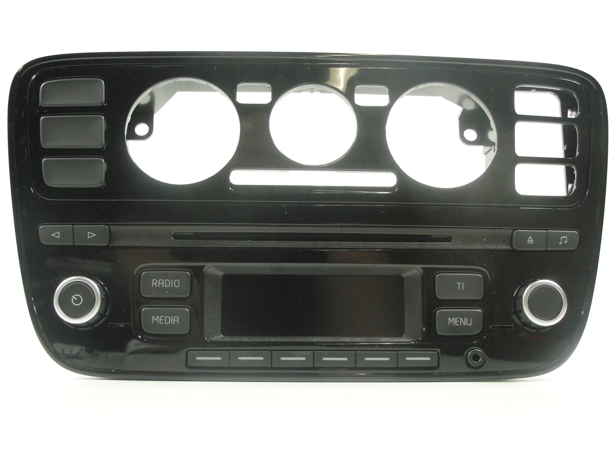vw up autoradio radio rcd 215 cd stereo mp3 1s0035156c. Black Bedroom Furniture Sets. Home Design Ideas